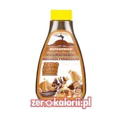 Napakowani Czekolada Karmel i Orzeszki 425ml - Syrop ZeroKalorii.pl