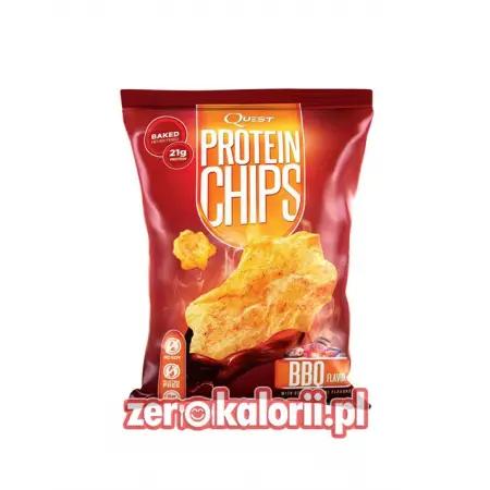 Chipsy Białkowe Quest PROTEIN CHIPS, Sól Morska