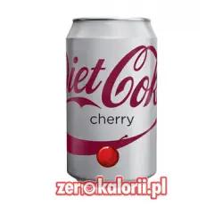 Coca Coka Cherry ZERO - 330ml puszka