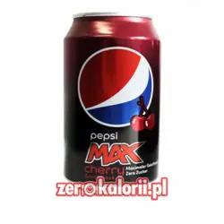 Pepsi Max Cherry - 330ml puszka WIŚNIOWY