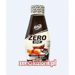 Chocolade Karmel Zero Sauce 400ml, 6PAK Nutrition