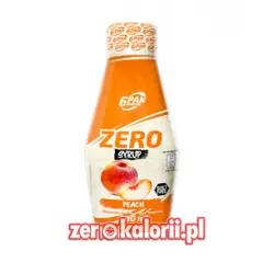 Peach Zero Sauce 400ml, 6PAK Nutrition