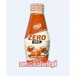 Salted Carmel Zero Sauce 400ml, 6PAK Nutrition