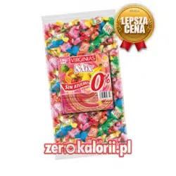 Cukierki miękkie mix,BEZ CUKRU XXL 1KG VIRGINIAS