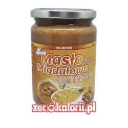 Mocne Masło Migdałowe SMOOTH 500g 100% Migdałów