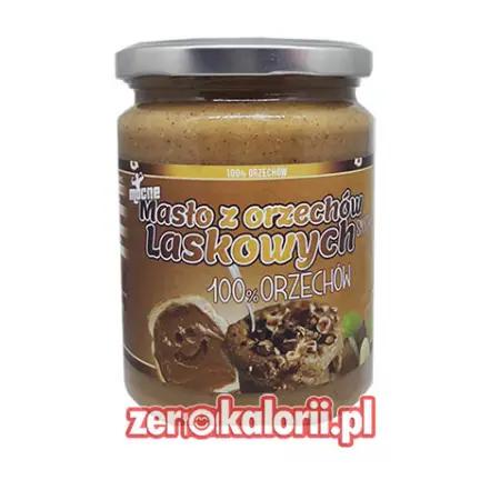 Mocne Masło z Orzechów Laskowych SMOOTH 500g 100% Orzechów