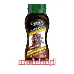 Syrop Czekoladowy 500 ml Zero Kalorii Real Pharm