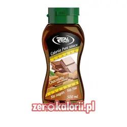 Syrop Czekoladowo - Migdałowy 500 ml Zero Kalorii Real Pharm