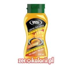Syrop Curry - Mango 500 ml Zero Kalorii Real Pharm