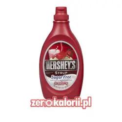 Syrop Truskawkowy Hershey's Bez Cukru