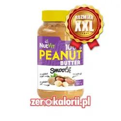 Masło Orzechowe Smooth 1000g NutVit 100 % Orzechów