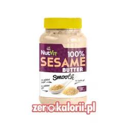 Masło Sezamowe Smooth 500g NutVit 100 % Sezamu