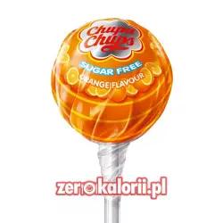 Lizak Chupa Chups Pomarańcza BEZ CUKRU