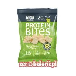 Chipsy Białkowe Protein Bites Novo 40g Cebulka & Śmietanka