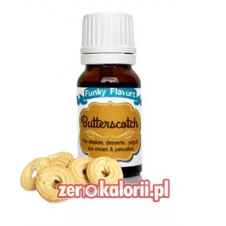Aromat Funky Flavors Almond - Herbatniki Maślane BEZ CUKRU I TŁUSZCZU
