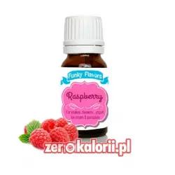 Aromat Funky Flavors Raspberry - Malinowy BEZ CUKRU I TŁUSZCZU
