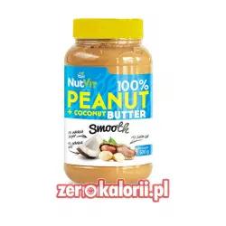 Masło Orzechowo KOkosowe 500g NutVit 100 %