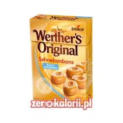 Werther's Original Mleczne Cukierki BEZ CUKRU