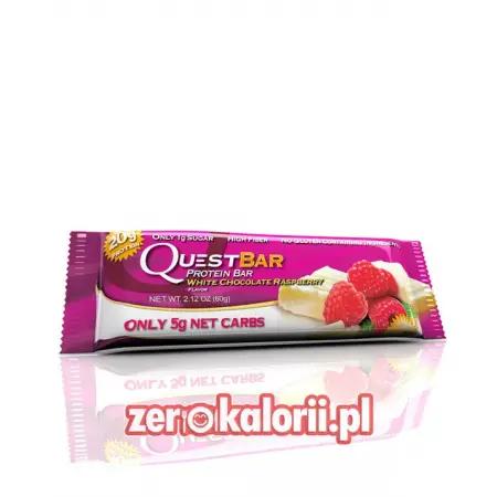 Quest Bar Biała Czekolada Malina White CHocolate Raspberyy