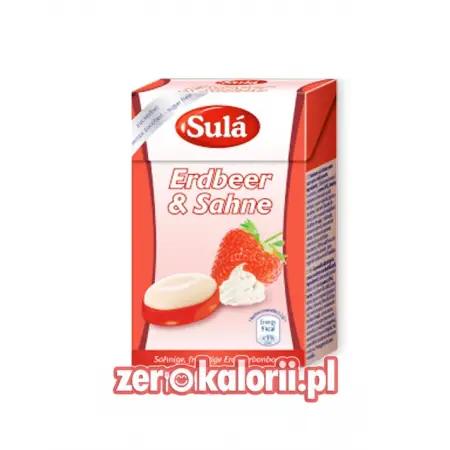 Sula Truskawkowe Cukier BEZ CUKRU, sugar free