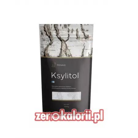 Ksylitol Brzozowy w Proszku 300g Renar DoyPack PREMIUM