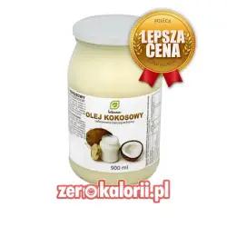 Intenson Olej kokosowy Rafinowany Bezzapachowy 900ml BIO EKO
