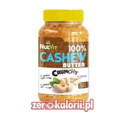 Masło z Nerkowców Cashew Crunch 500g NutVit