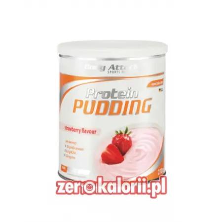 Pudding Białkowy truskawka 210g Body Attack