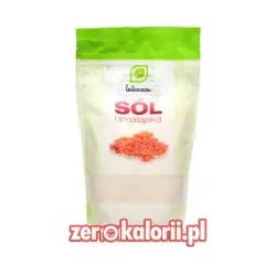 Intenson Sól Himalajska Różowa - Drobna 1kg EKO BIO