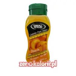 Syrop Brzoskwiniowy 500 ml Zero Kalorii Real Pharm